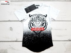 T-shirt TIGER SUPERIOR black/white