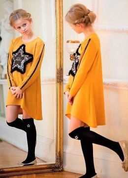 Asymmetric tunic LISA with fur star