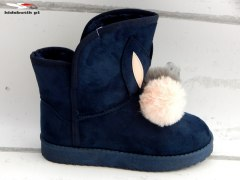 Winter boots RABBITS EMU with POM POM