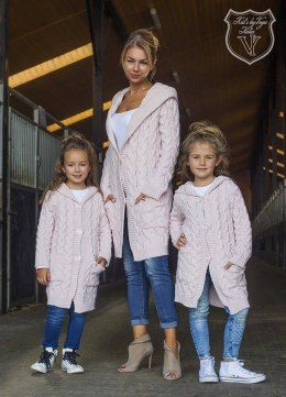 Long jumper/Cardigan with hood Daughter
