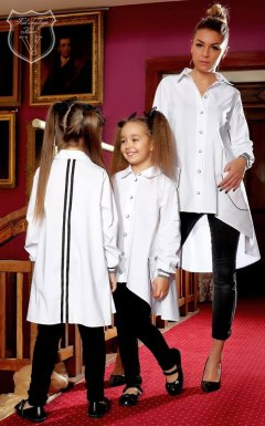 Elegant shirt - tunic with tape Daughter