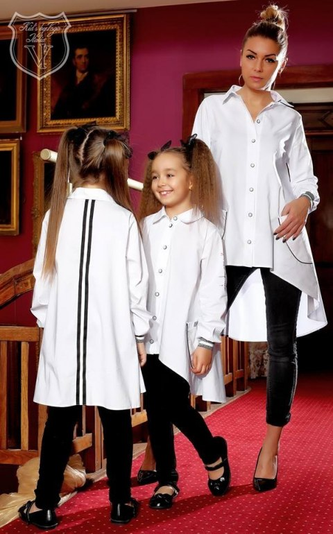 Elegant shirt - tunic with tape MOTHER