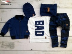 Set/dres BAD: bomber jacket, tshirt and pants