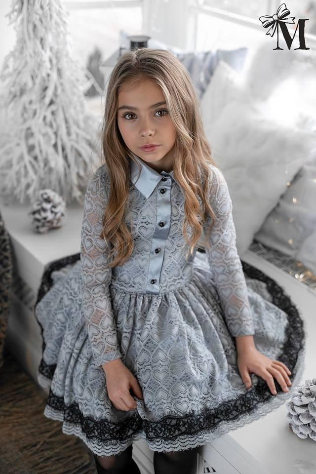 b9360d2871 Kidsbutik.pl - Ubranka dla dzieci i Zabawki   Koronkowa sukienka w ...
