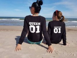 Sweatshirt PRINCESS 01 for DAUGHTERS black