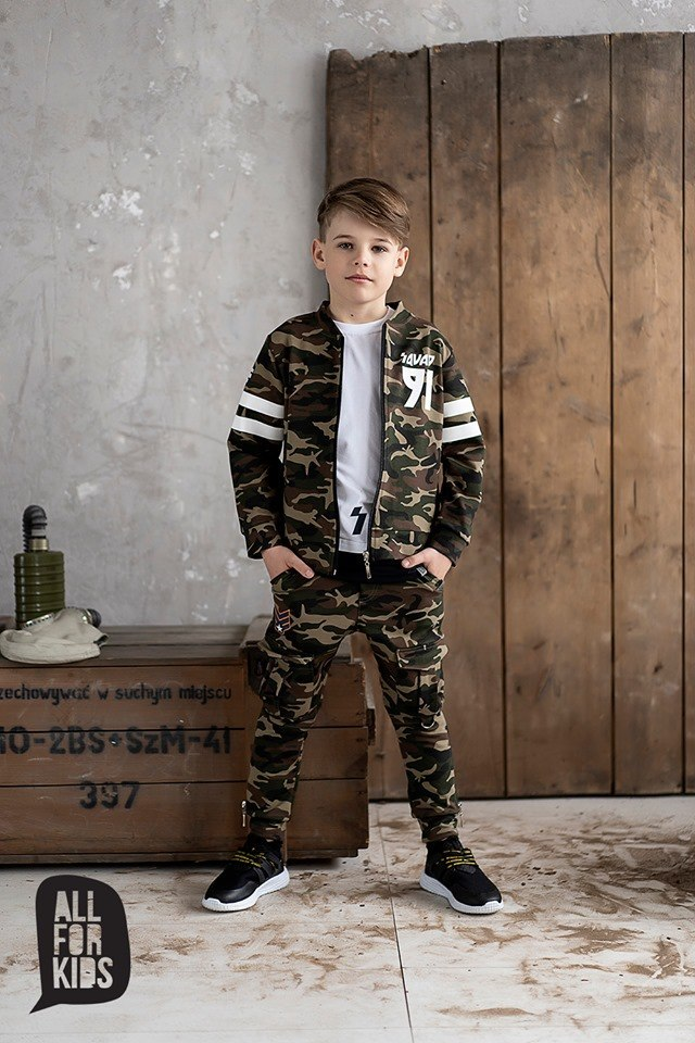 Camo Set UNIT SQUAD bomber and trousers