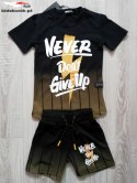 A complete set of sports NEVER DON'T GIVE UP-black honey