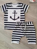 The Navy set with an anchor for his son