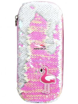 Pencil Case FLAMING Magic Sequins
