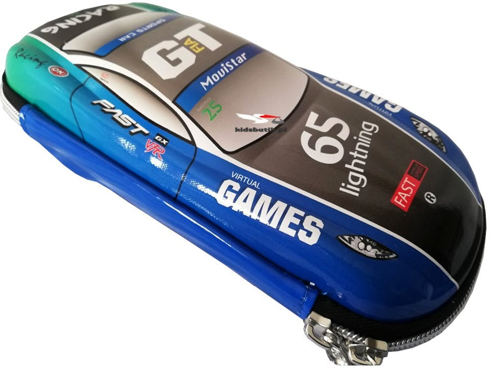Pencil case CAR RACING 3D