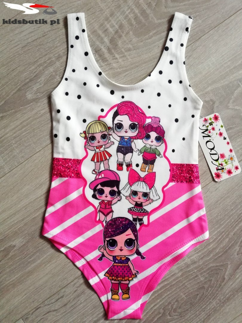 Swimsuit DOLL LOL-Pink