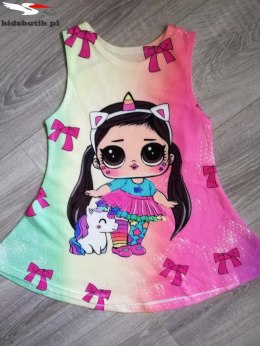 UNICORN LOL t-shirt dress