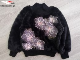 Pullover fur Black HIBISCUS black