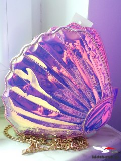 Holography handbag Pearl SEASHELL