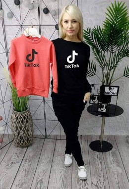TIK TOK sweatshirt - black