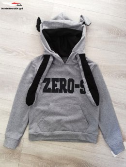 Sweatshirt ZERO 9 movable ears-grey