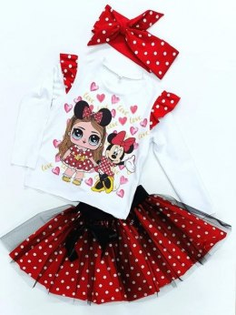 3-in-1 LOL and MINNIE set with pin up band