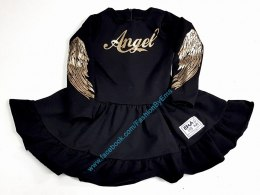 GOLDEN ANGEL Dress-Black