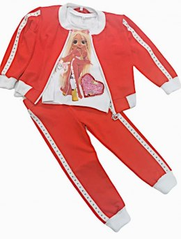 BARBIE 3 piece tracksuit set