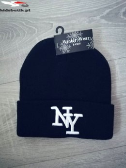 Winter Embroidered Hat NY