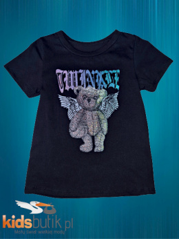 T-shirt/T-shirt TEDDY BEAR ANGEL - black