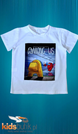 Tshirt, AMONG US T-shirt - white