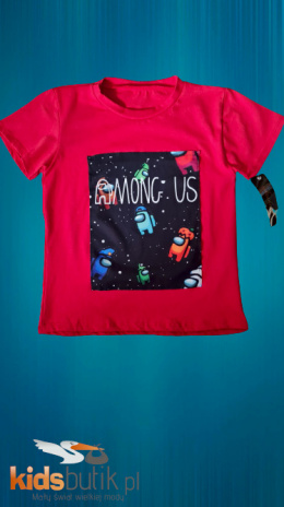Tshirt, among us t-shirt - red