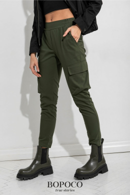 Militia pants with pockets - khaki
